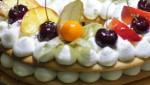 Торт Крем-Чиз с фруктами!