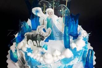 "Детский торт ""Холодное сердце"""