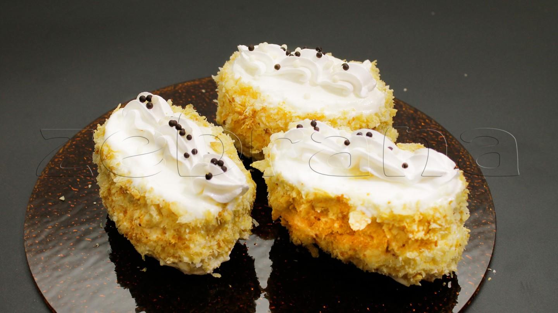 слоеное пирожное Наполеон