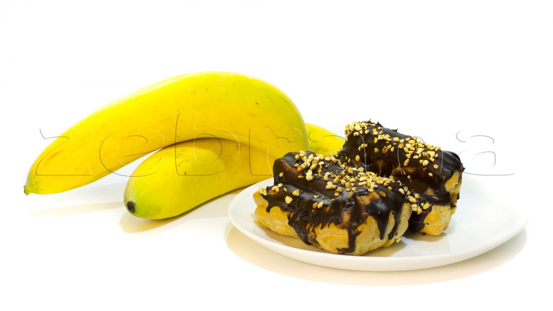 Эклеры с банановым кремом