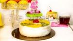 """Лёгкий фруктовый торт """"Фруктовый десерт"""""""