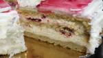 """Творожный торт """"Клюквенный"""""""