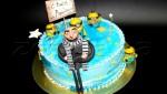 Детский торт бисквитный
