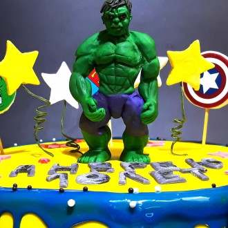 """Торт детский """"Супергерои"""""""