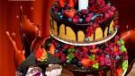 Торт со свежей ягодой