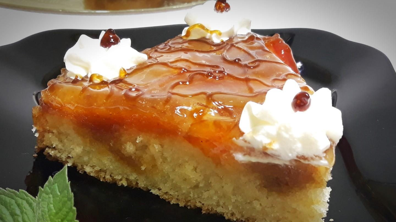 Сливовый десерт